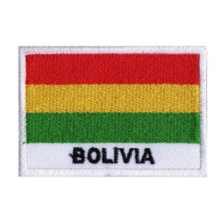 Patche drapeau Bolivie