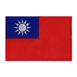 Aufnäher Patch Flagge Taiwan