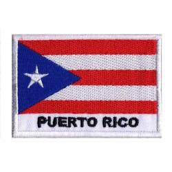 Aufnäher Patch Flagge Puerto Rico