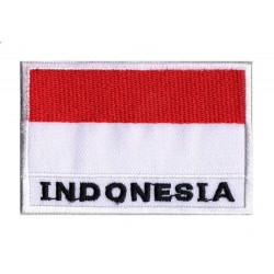 Aufnäher Patch Flagge Indonesien