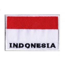 Parche bandera Indonesia
