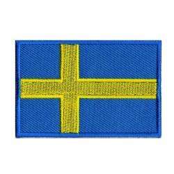 Parche bandera Suecia
