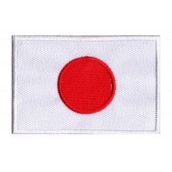 Aufnäher Patch Flagge Japan