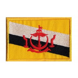 Aufnäher Patch Flagge Brunei