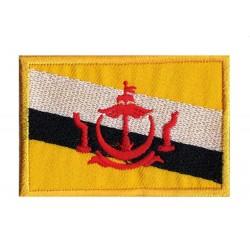 Aufnäher Patch Flagge Brunei