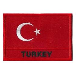 Parche bandera Turquía