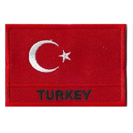 Patche drapeau Turquie
