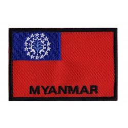 Aufnäher Patch Flagge Myanmar