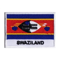 Aufnäher Patch Flagge Swasiland