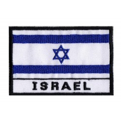Aufnäher Patch Flagge Israel