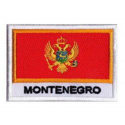 Patche drapeau Monténégro