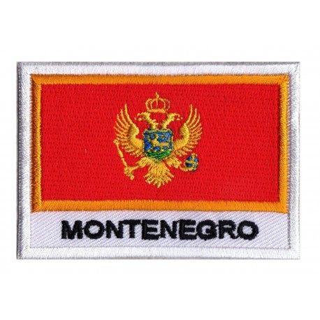 Aufnäher Patch Flagge Montenegro