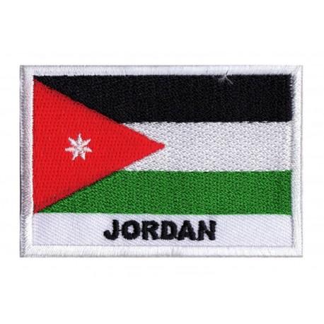 Parche bandera Jordania