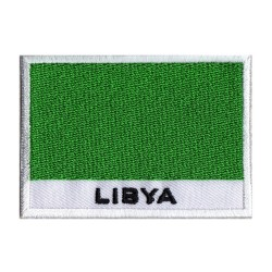 Aufnäher Patch Flagge Libyen