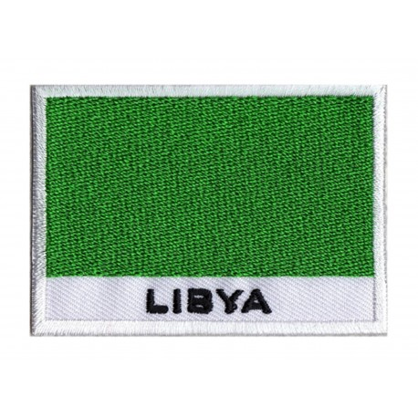 Patche drapeau Libye (ancien drapeau)