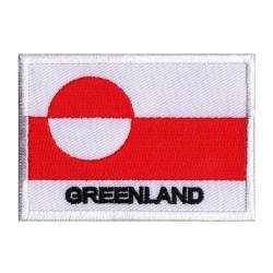 Parche bandera Groenlandia