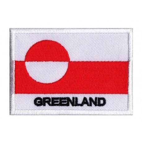 Toppa  bandiera Groenlandia