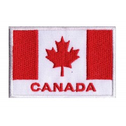 Parche bandera Canadá