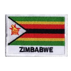 Toppa  bandiera Zimbabwe