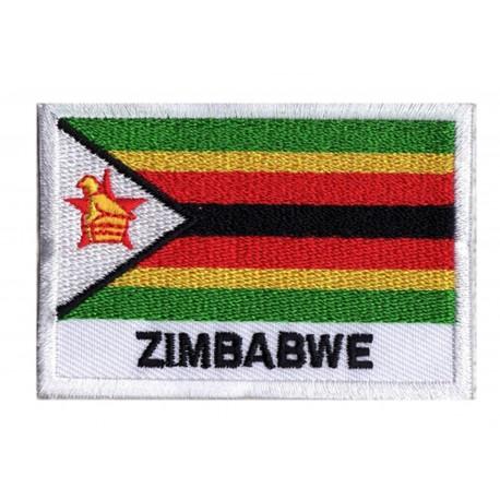 Aufnäher Patch Flagge Simbabwe