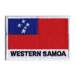 Toppa  bandiera Samoa occidentale