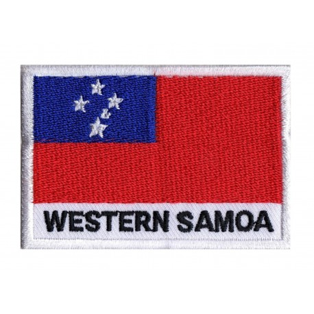 Parche bandera Samoa occidental
