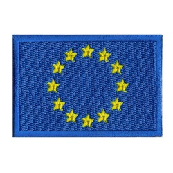Aufnäher Patch Flagge Europa