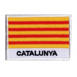 Patche drapeau Catalogne