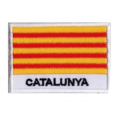 Aufnäher Patch Flagge Katalonien