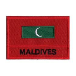 Patche drapeau Maldives
