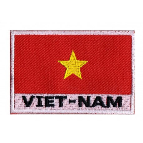 Aufnäher Patch Flagge Vietnam