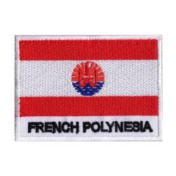 Parche bandera Polinesia Francés