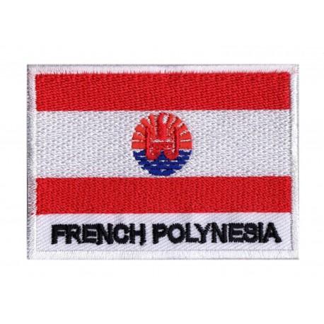 Flag Patch French Polynesia