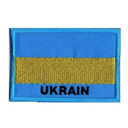 Aufnäher Patch Flagge Ukraine