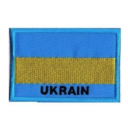 Toppa  bandiera  Ucraina