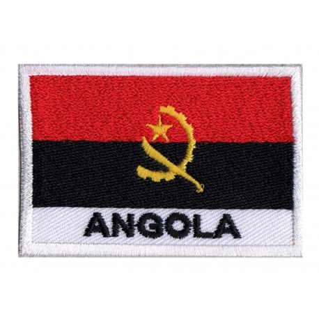 Aufnäher Patch Flagge Angola