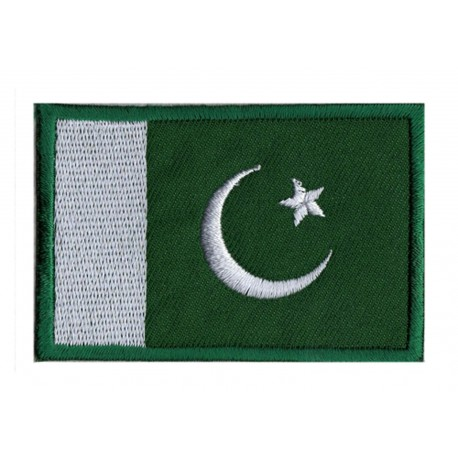 Aufnäher Patch Flagge Pakistan