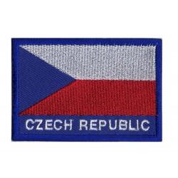 Aufnäher Patch Flagge Tschechische Republik