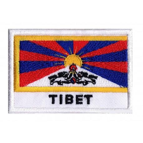 Flag Patch Tibet