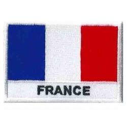 Patche drapeau France Français
