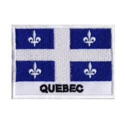 Patche drapeau Québec