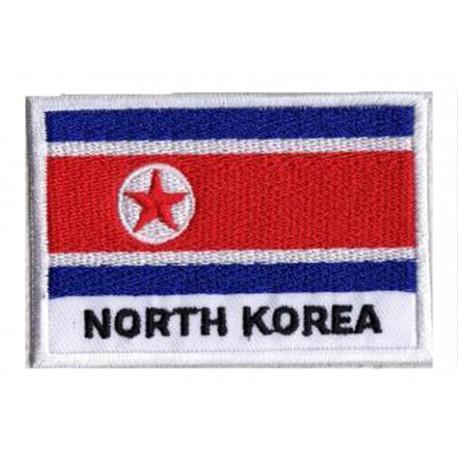 Patche drapeau Corée du Nord