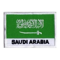 Patche drapeau Arabie Saoudite