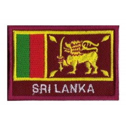 Aufnäher Patch Flagge Sri Lanka