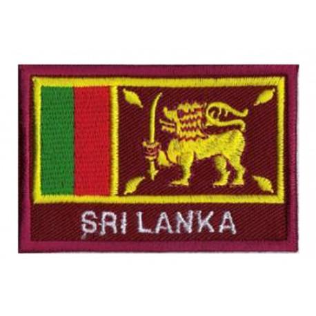 Patche drapeau Sri Lanka