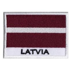 Patche drapeau Lettonie