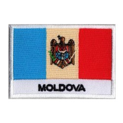 Aufnäher Patch Flagge  Moldawien