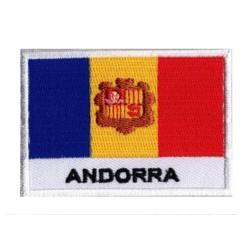 Patche drapeau Andorre