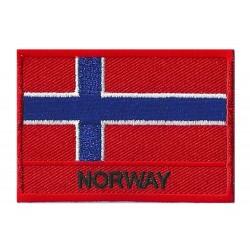Patche drapeau Norvège