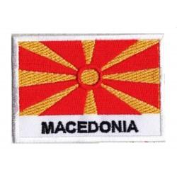 Patche drapeau Macédoine
